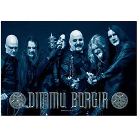 Dimmu Borgir Band Photo Fabric Poster