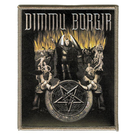 Dimmu Borgir Hell Silk Screened Embroidered Patch
