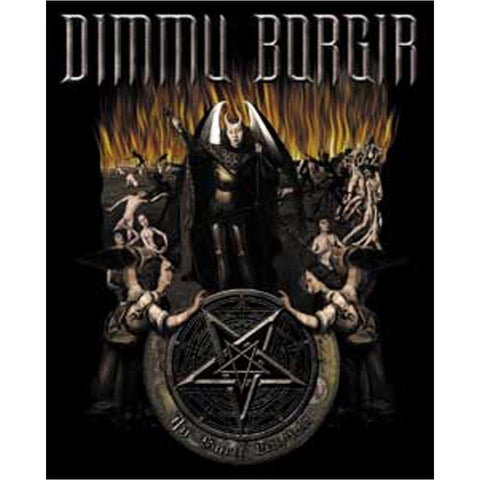 Dimmu Borgir Hell Sticker