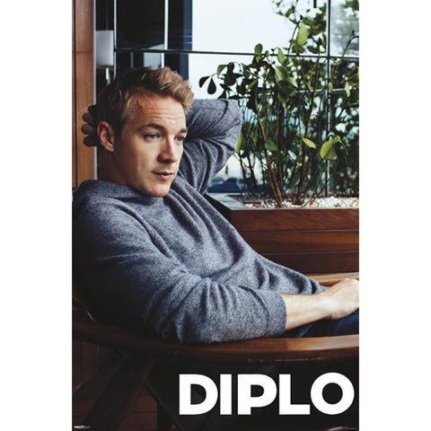 Diplo Head Scratch Wall Poster