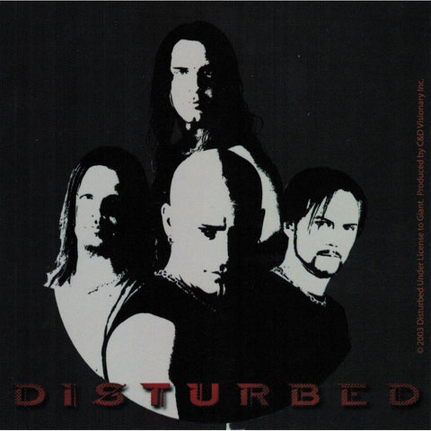 Disturbed Music Withwin Square Sticker