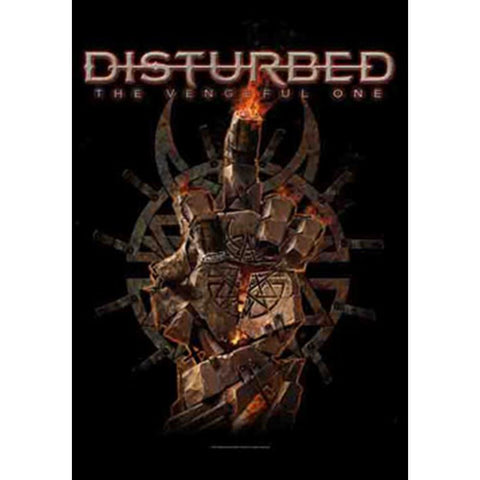 Disturbed - The Vengeful One Fabric Poster Flag