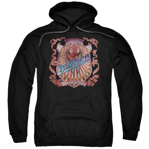 Dokken Special Order Back Attack Men's Pull-Over 75% Cotton 25% Poly Hoodie