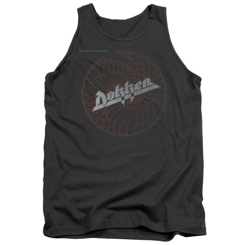 Dokken Special Order Breaking The Chains Men's 18/1 100% Cotton Tank Top