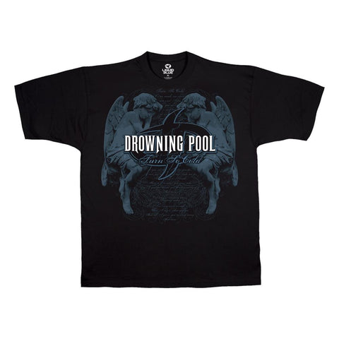 Drowning Pool Turn So Cold Men's T-Shirt