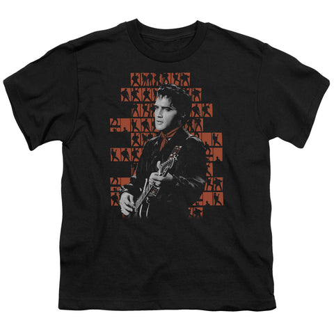 Elvis Presley Special Order 1968 Youth 18/1 100% Cotton Short-Sleeve T-Shirt