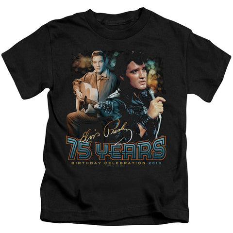 Elvis Presley Special Order 75 Years Juvenile 18/1 100% Cotton Short-Sleeve T-Shirt