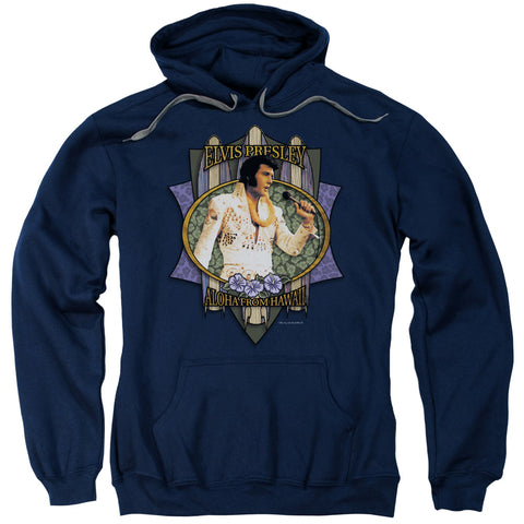 Elvis Presley Special Order Aloha From Hawaii Men's Pull-Over 75% Cotton 25% Poly Hoodie