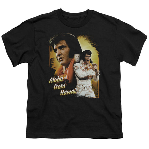 Elvis Presley Special Order Aloha Youth 18/1 100% Cotton Short-Sleeve T-Shirt