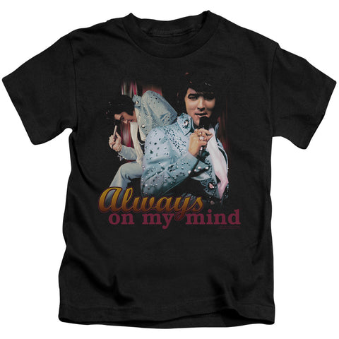 Elvis Presley Special Order Always On My Mind Juvenile 18/1 100% Cotton Short-Sleeve T-Shirt