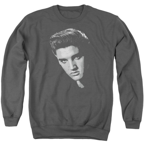 Elvis Presley Special Order American Idol Men's Crewneck 50% Cotton 50% Poly Long-Sleeve Sweatshirt
