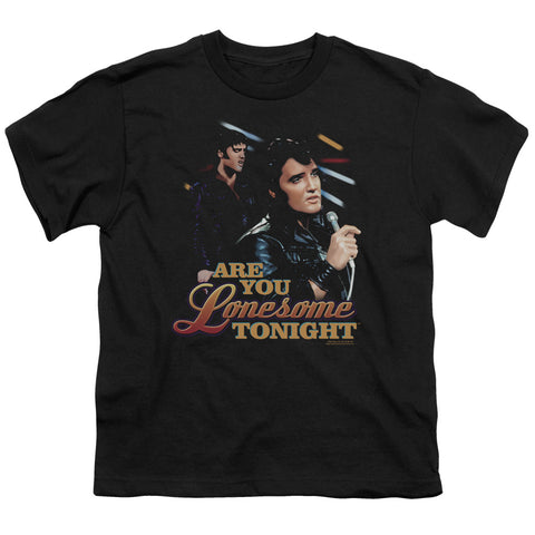 Elvis Presley Special Order Are You Lonesome Youth 18/1 100% Cotton Short-Sleeve T-Shirt