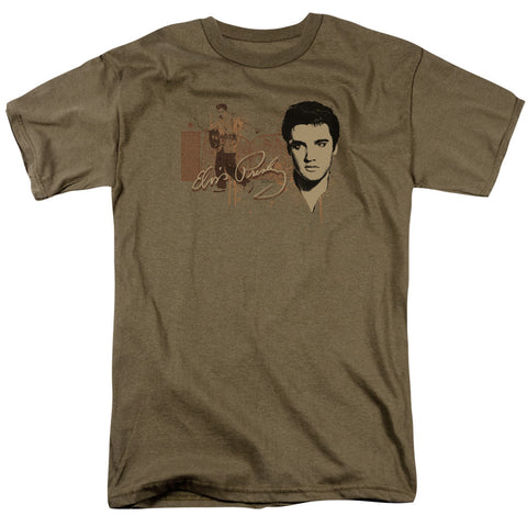 Elvis Presley Special Order At The Gates Men's 18/1 100% Cotton Short-Sleeve T-Shirt