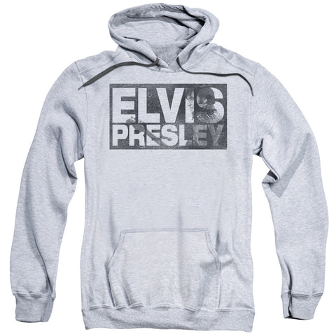 Elvis Presley Special Order Block Letters Men's Pull-Over 75% Cotton 25% Poly Hoodie
