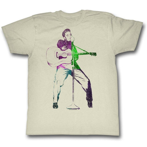 Elvis Presley Custom Colors Men's T-Shirt