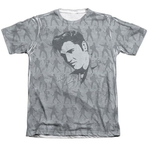 Elvis Presley Special Order Down To Business Men's Regular Fit 65% Poly 35% Cotton Short-Sleeve T-Shirt