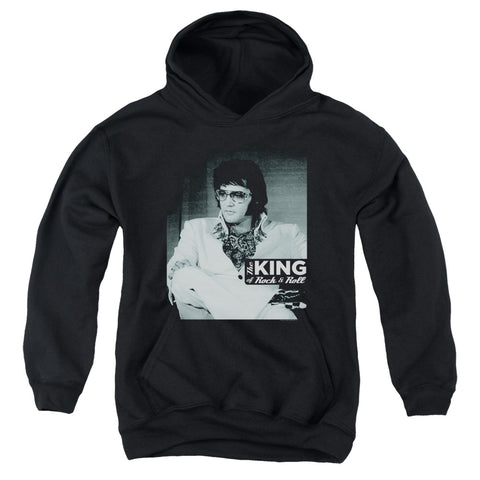 Elvis Presley Special Order Good To Be Youth 50% Cotton 50% Poly Pull-Over Hoodie