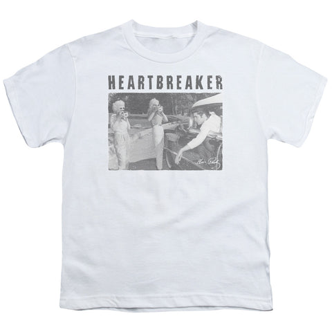 Elvis Presley Special Order Heartbreaker Youth 18/1 100% Cotton Short-Sleeve T-Shirt