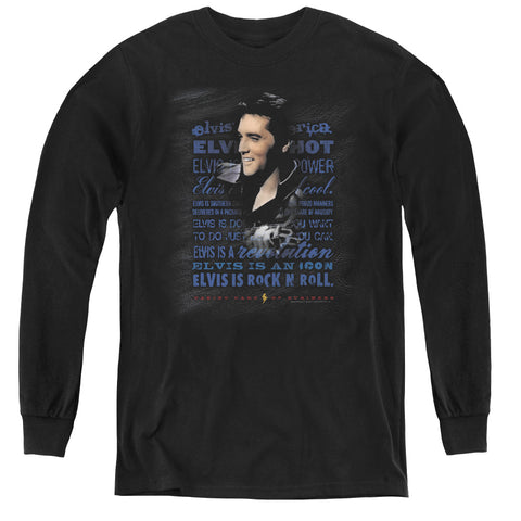 Elvis Presley Icon Youth LS T