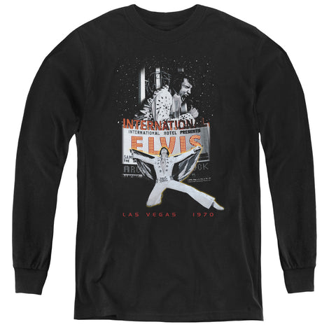 Elvis Presley Las Vegas Youth LS T