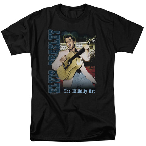 Elvis Presley Special Order Memphis Men's 18/1 100% Cotton Short-Sleeve T-Shirt