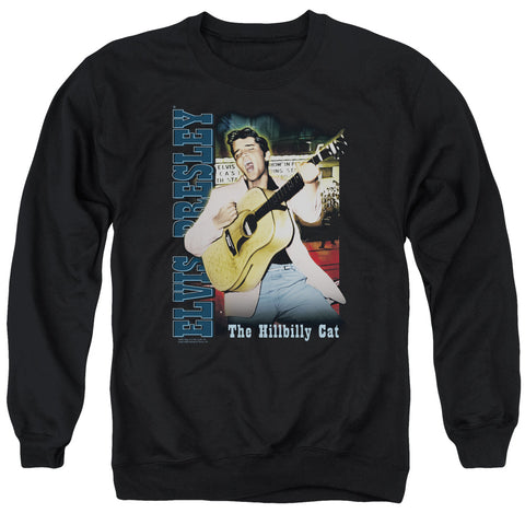 Elvis Presley Special Order Memphis Men's Crewneck 50% Cotton 50% Poly Long-Sleeve Sweatshirt