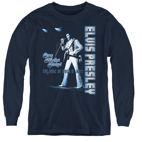 Elvis Presley One Night Only Youth LS T