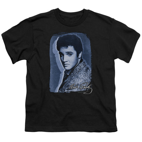 Elvis Presley Special Order Overlay Youth 18/1 100% Cotton Short-Sleeve T-Shirt