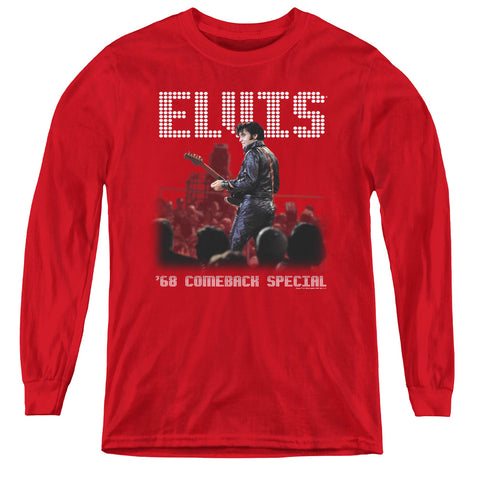 Elvis Presley Return Of The King Youth LS T