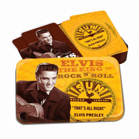 Elvis Presley Sun Records Playing Cards
