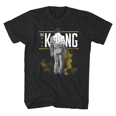Elvis Presley The King From Behind Men's T-Shirt