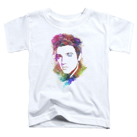 Elvis Presley Special Order Watercolor King Toddler 18/1 100% Cotton Short-Sleeve T-Shirt