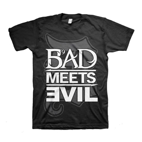 Eminem Bad Meets Evil Square Logo Men's T-Shirt
