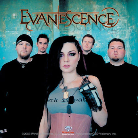 Evanescence Band Close-Up Photo Sticker