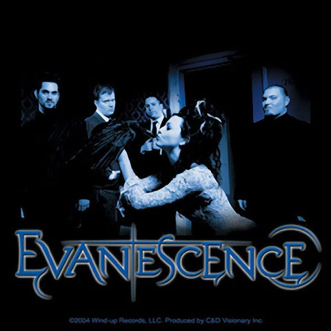 Evanescence Crow Photo Sticker