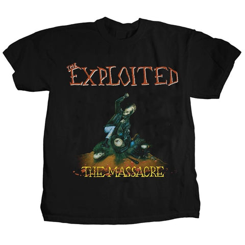 Exploited The Massacre Men's T-Shirt
