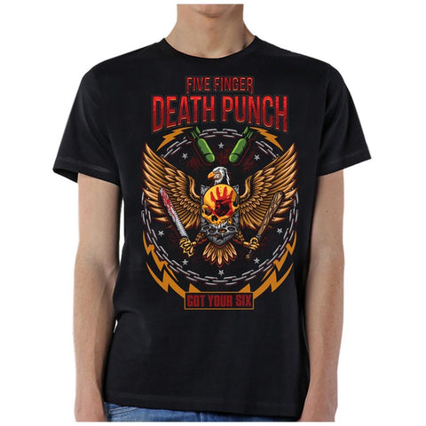 Five Finger Death Punch Men's Black T-Shirt