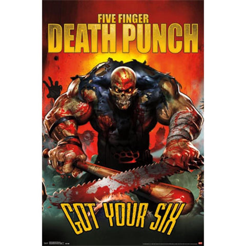 Five Finger Death Punch Six Wall Poster