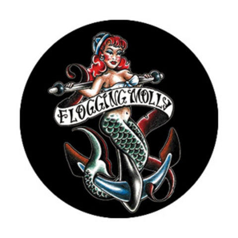 Flogging Molly Mermaid Button