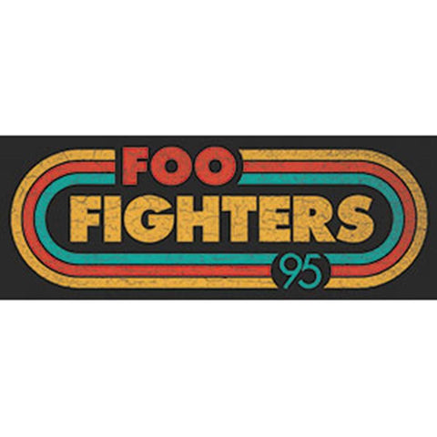 Foo Fighters Radio Sticker