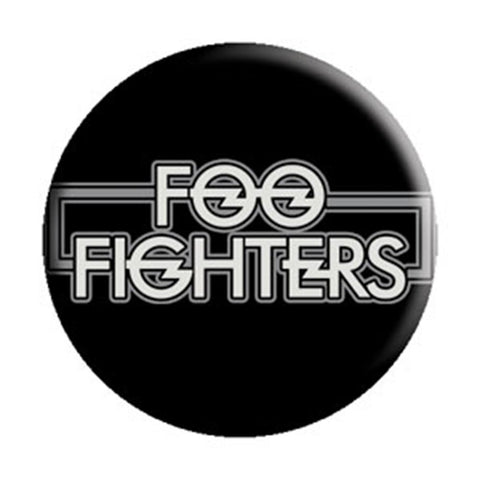 Foo Fighters New Logo 1.25 Inch Button