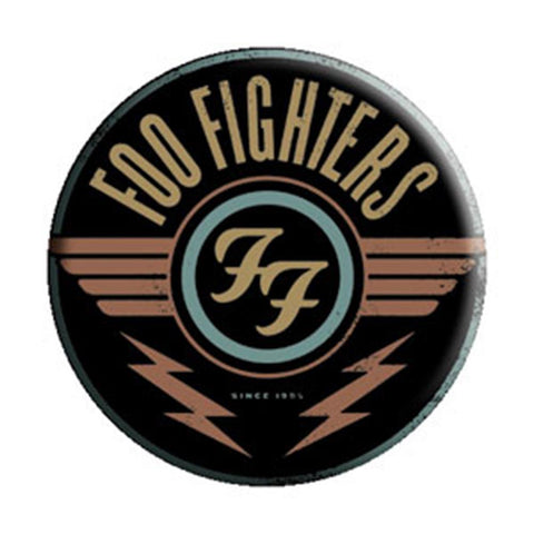 Foo Fighters Red Logo Button