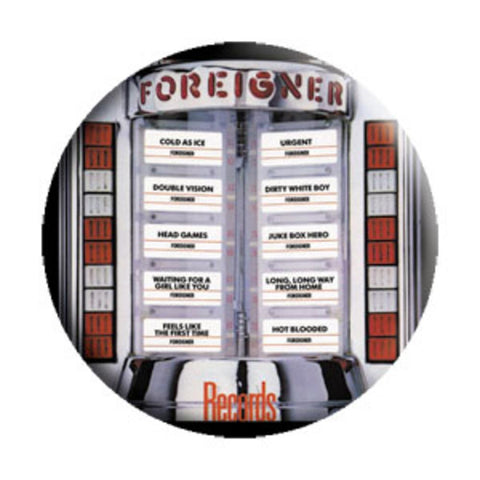 Foreigner Records Button