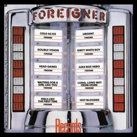 Foreigner Records Sticker