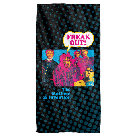 Frank Zappa Freak Out Cotton Polyester Towel