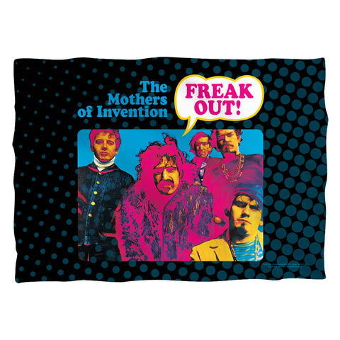 Frank Zappa Freak Out (Front/Back Print) Polyester Pillow Case