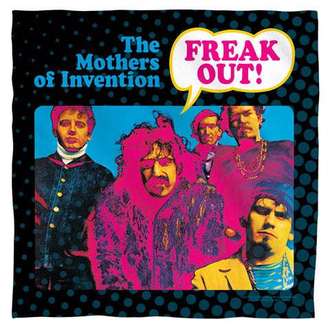 Frank Zappa Freak Out Polyester Bandana