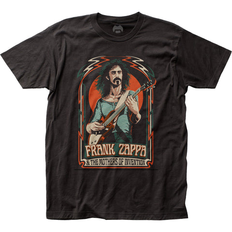 Frank Zappa Illustration fitted jersey tee