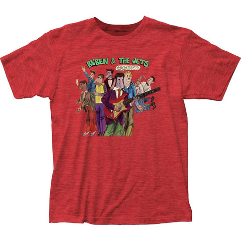 Frank Zappa Ruben & The Jets Men's Fitted Jersey T-Shirt