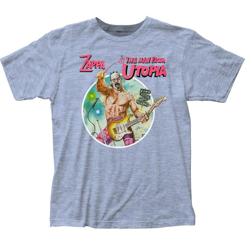Frank Zappa The Man From Utopia Men's Fitted Jersey T-Shirt